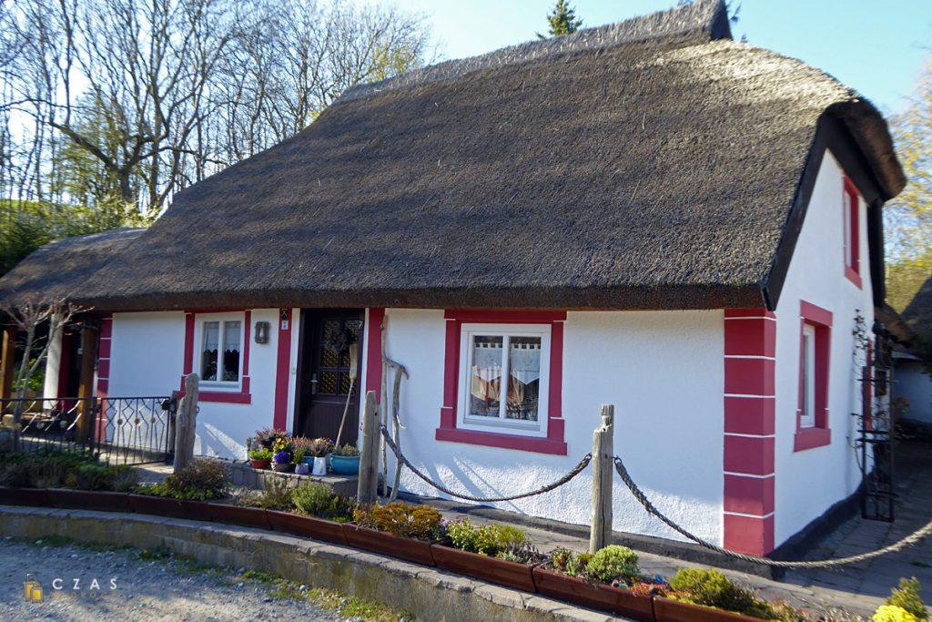 Jeden z domków w Vitt