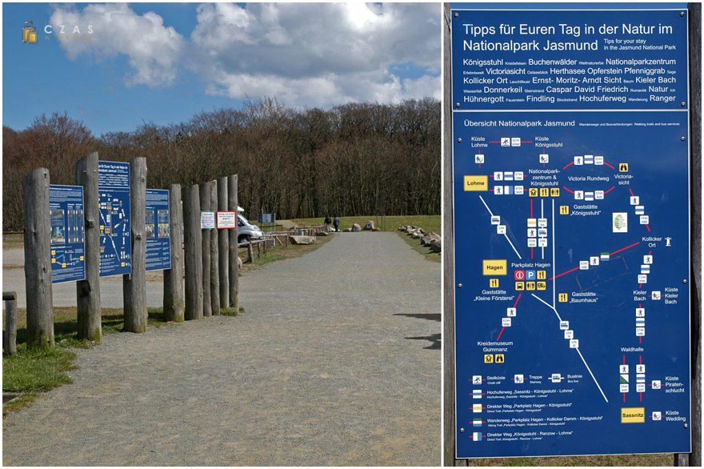 Wejście do Parku Narodowego Jasmund