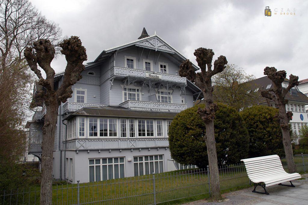 Przykład kurortowej architektury w Binz