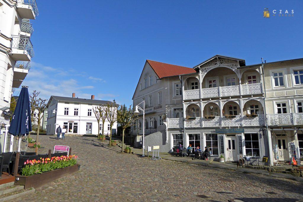 Zabudowania starego miasta w Sassnitz