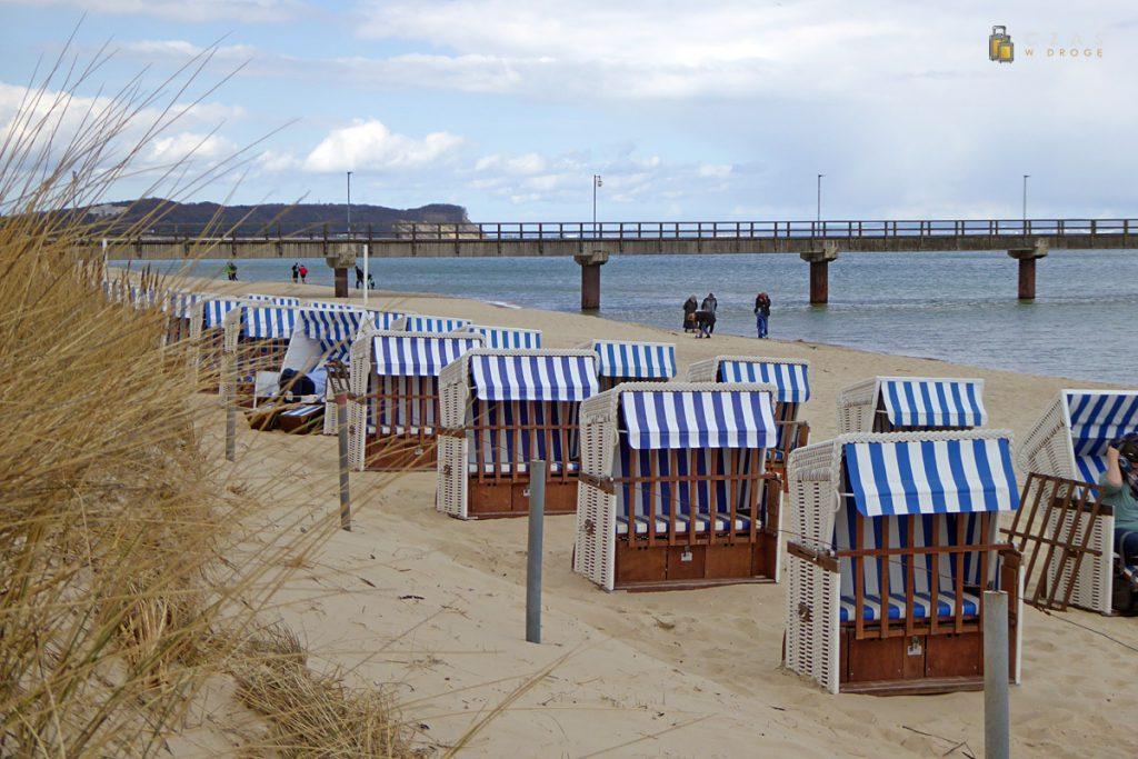 Kosze plażowe w Gohren