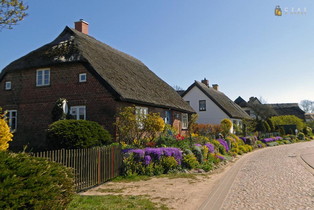 Ulica w Groß Zicker