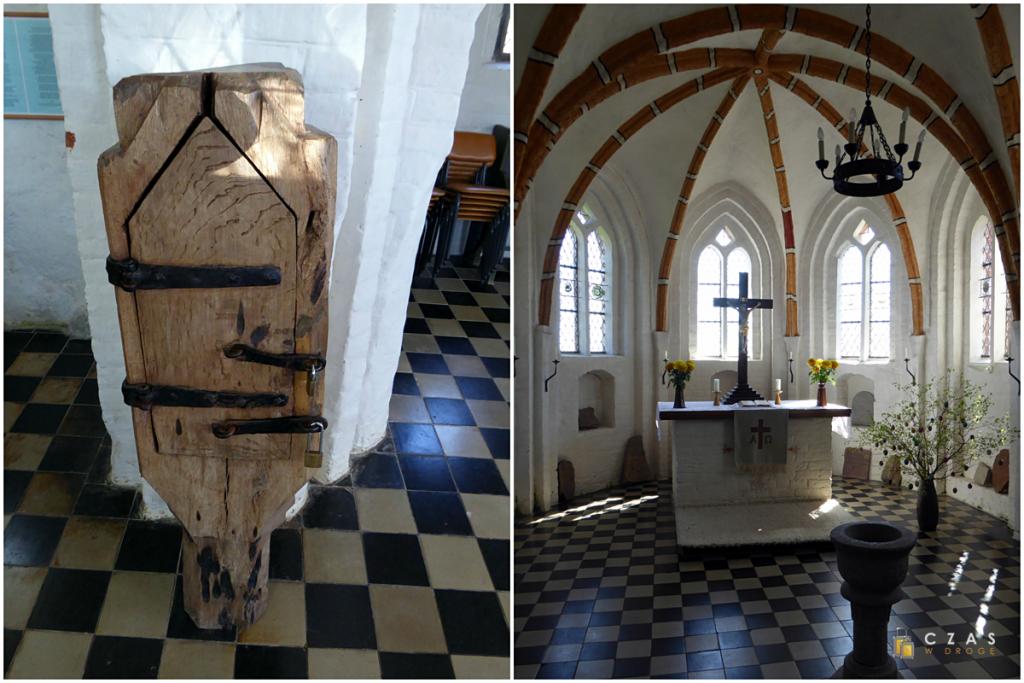Średniowieczne tabernakulum / Ołtarz kościoła w Groß Zicker