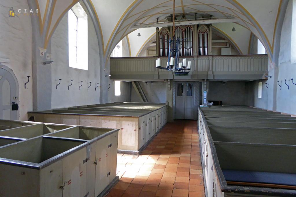 Wnętrze kościoła św. Katarzyny w Middelhagen