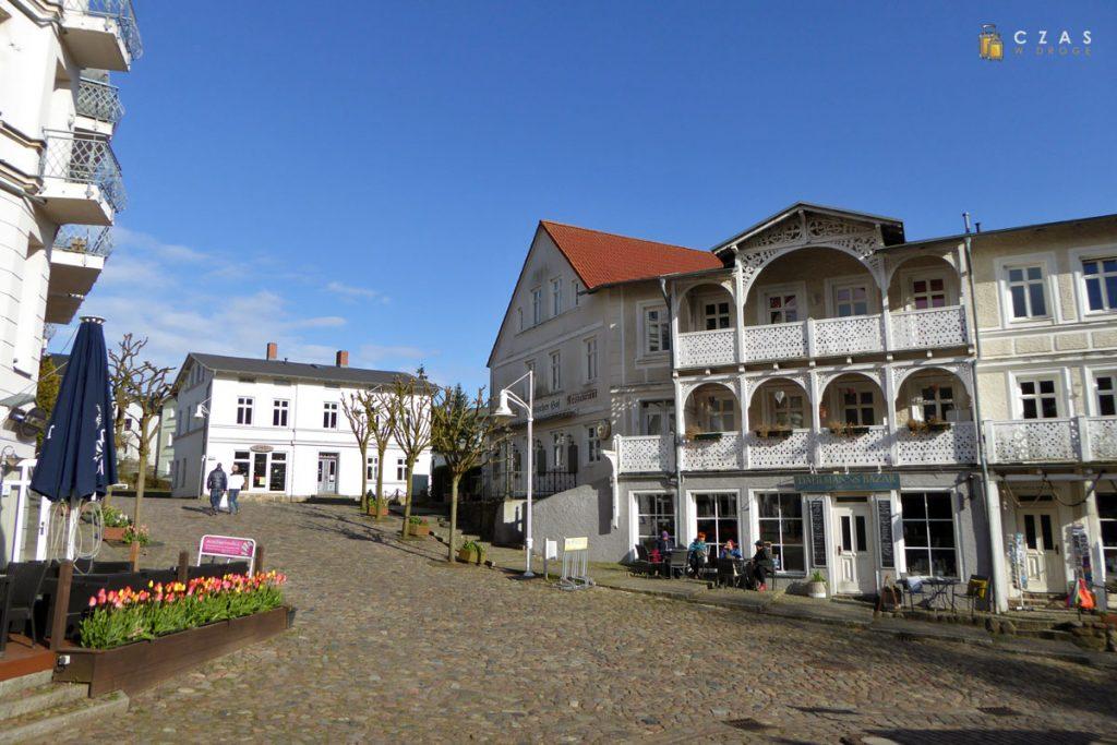 Stare miasto w Sassnitz