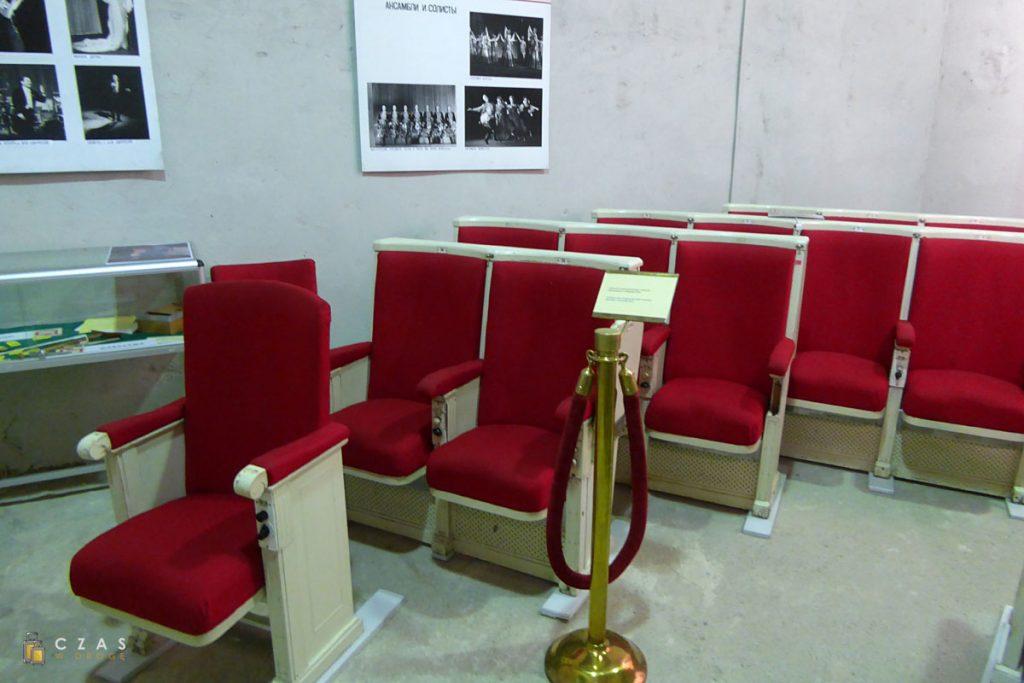 Fotele pochodzące z Sali Kongresowej