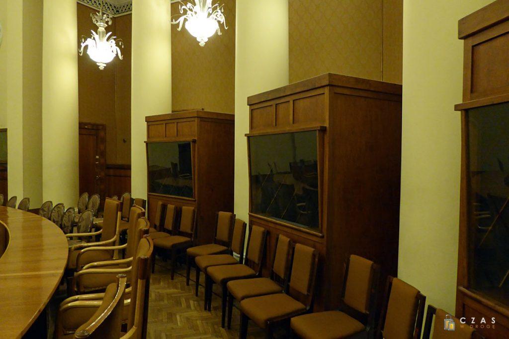 Sala im. Lwa Rudniewa / Kabiny tłumaczy