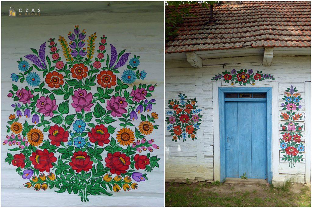 Jedna z najładniejszych malowanych chat Zalipia
