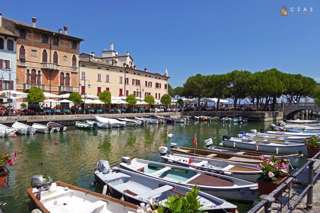 Stary port w Desenzano