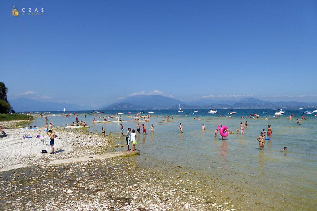 Plaża w Sirmione