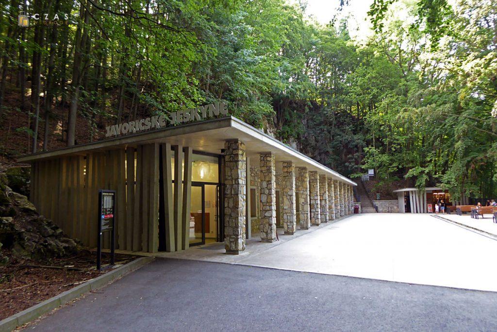 Jaskinie Javoříčske - budynek główny