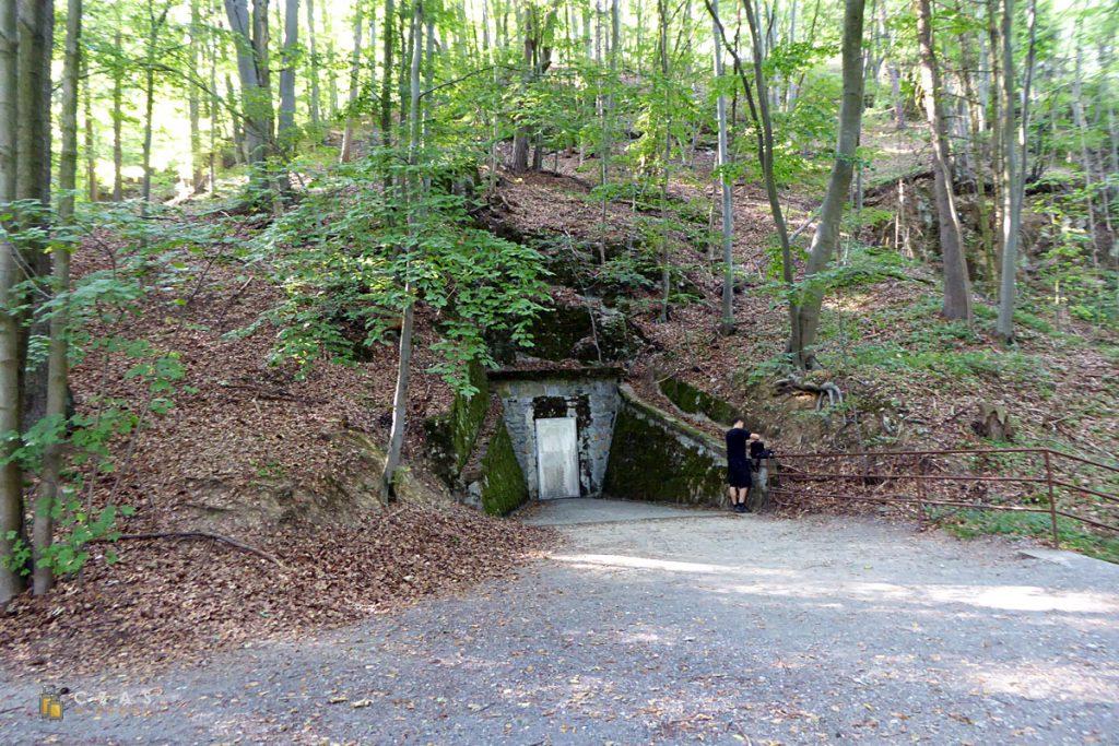 Jaskinie Javoříčske - wyjście z trasy długiej