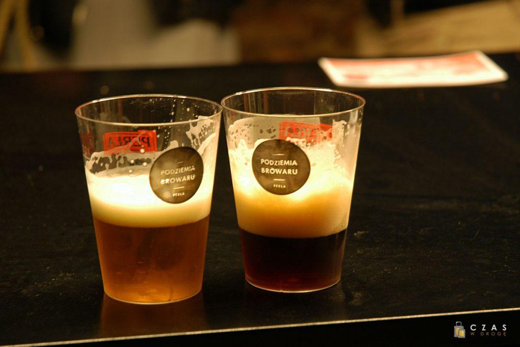 Spróbować będziemy mogli dwóch gatunków piwa