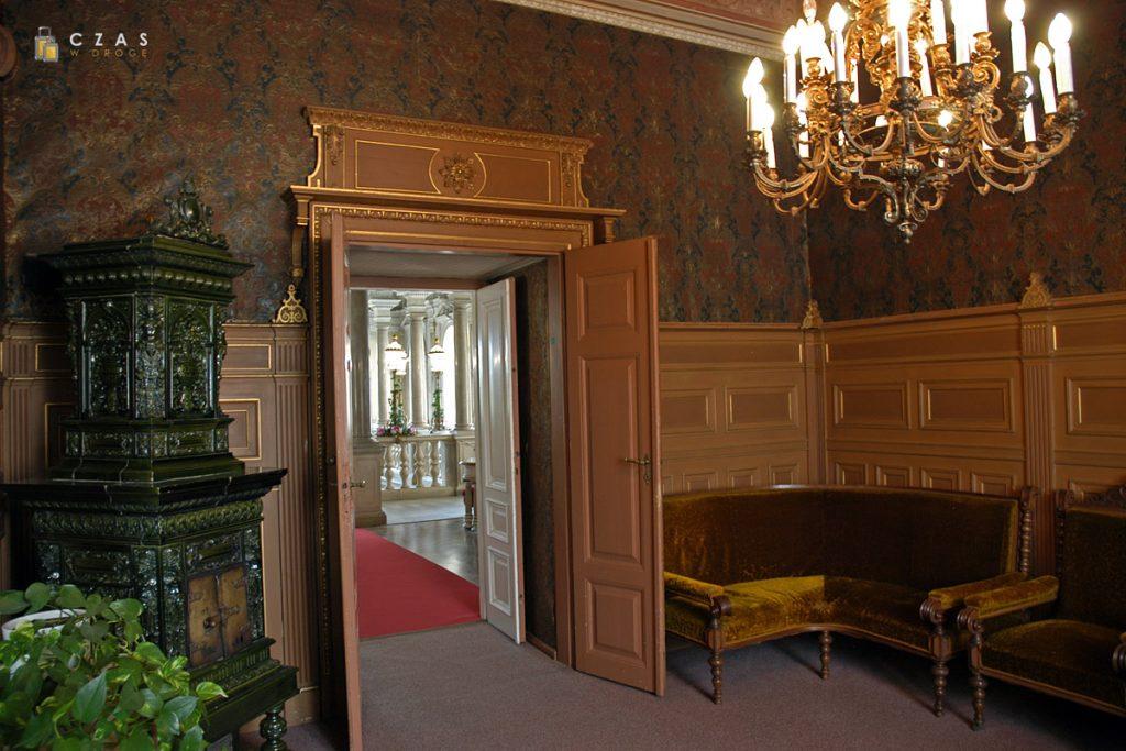 Pomieszczenia skrzydła wiedeńskiego