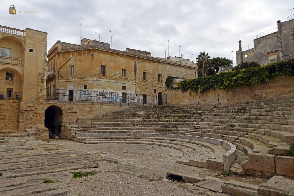 Museo di Teatro Romano - pozostałości widowni
