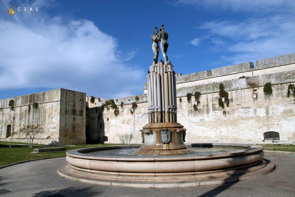 Lecce - zamek Karola V