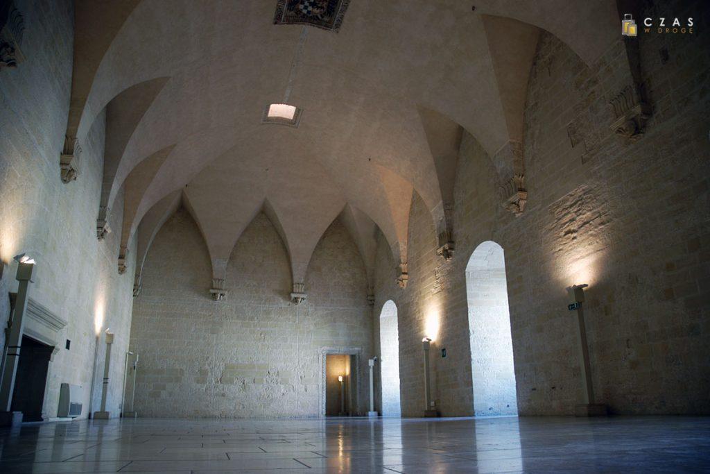 Jedna z sal pierwszego poziomu zamku