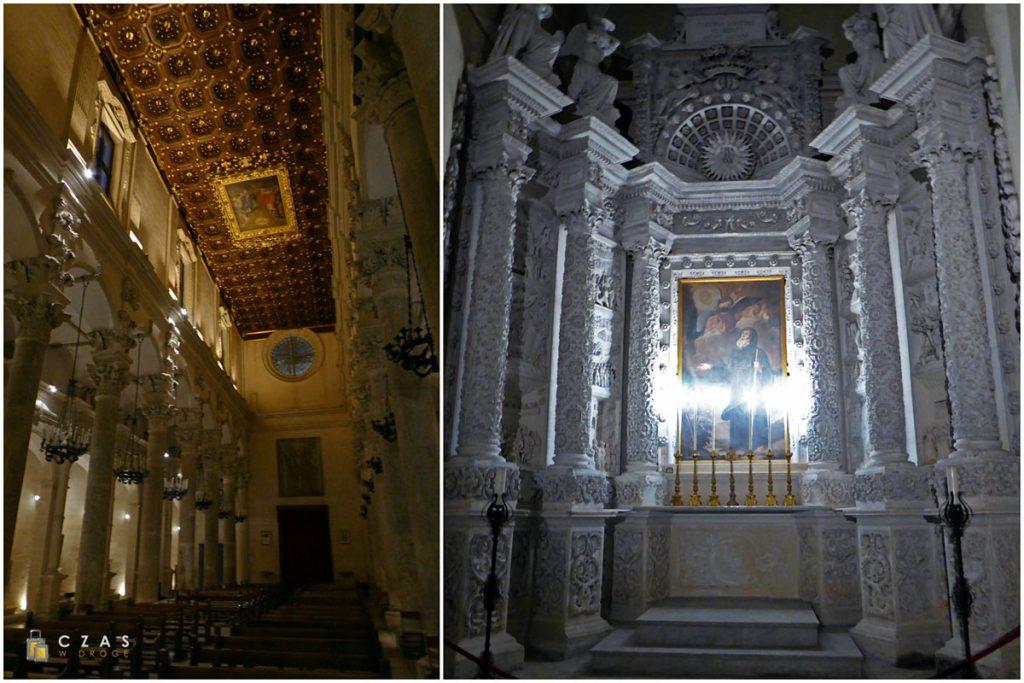 Basilica di Santa Croce - wnętrze / ołtarz boczny