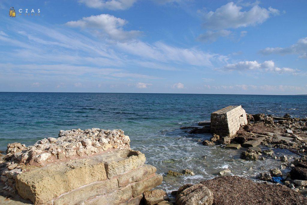 San Cataldo - pozostałości rzymskiego nabrzeża