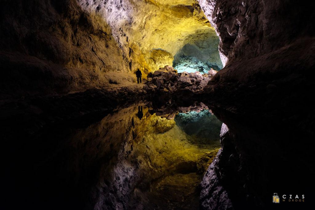 Tunele wulkaniczne Cueva de los Verdes