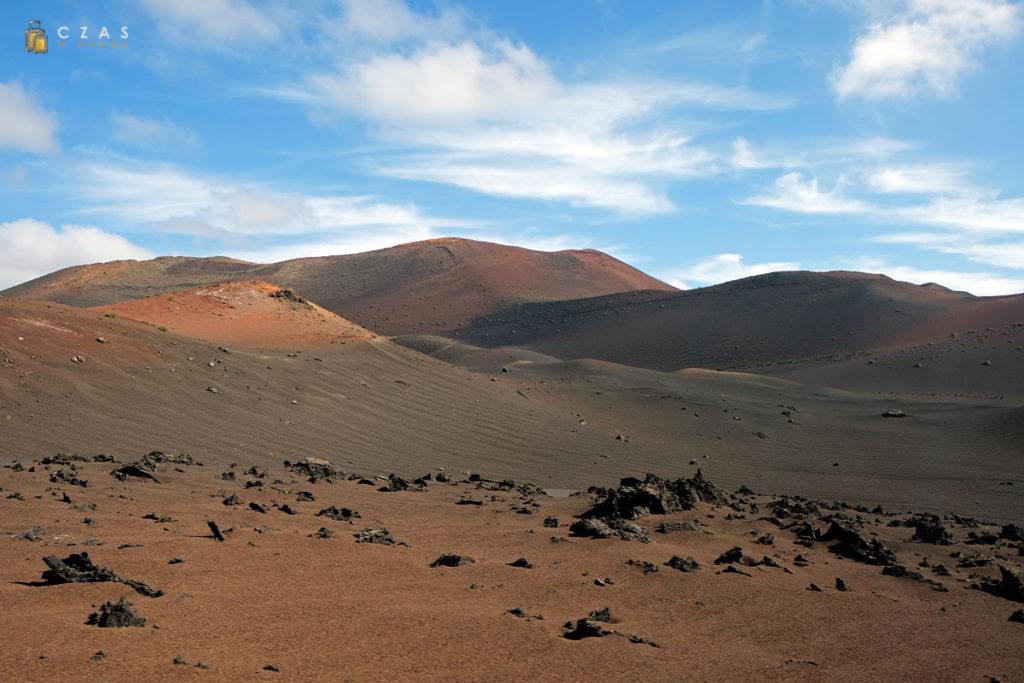 Krajobraz Parku Narodowego Timanfaya