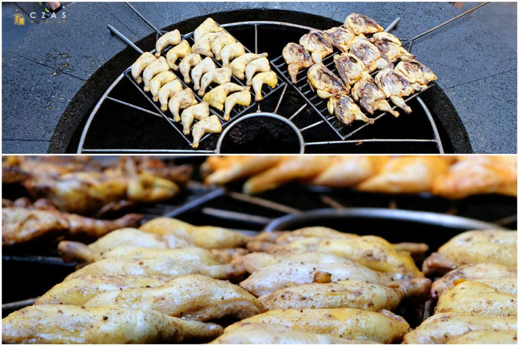 """Restauracja """"El Diablo"""" - mięso piecze się się na """"wulkanicznym"""" grillu :)"""