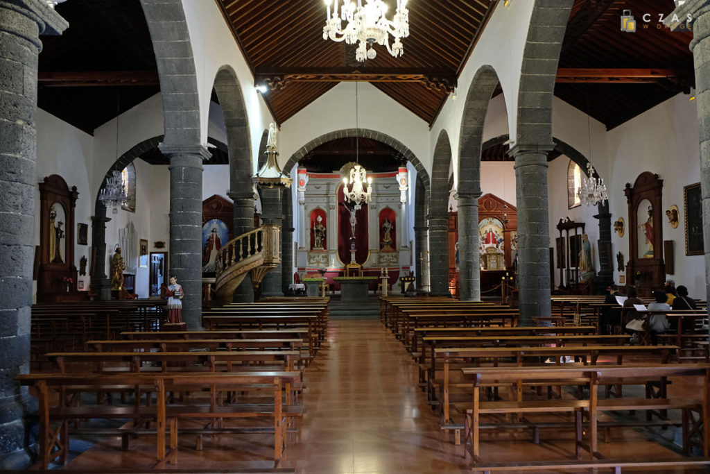 Wnętrze kościoła de San Ginés