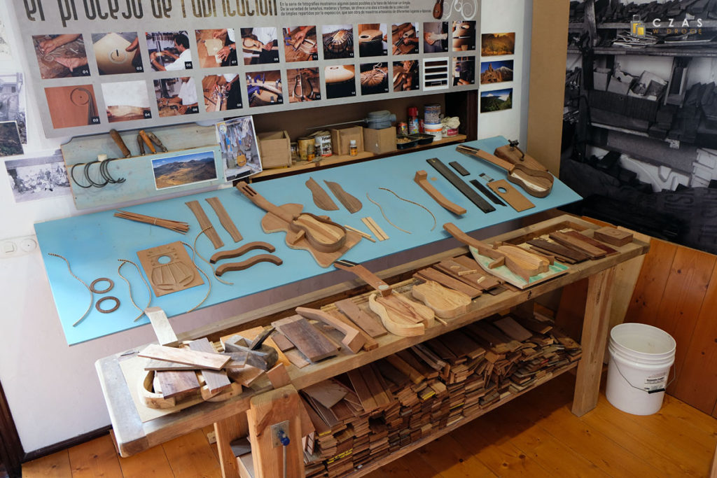 Replika pracowni rzemieślnika wytwarzającego timple