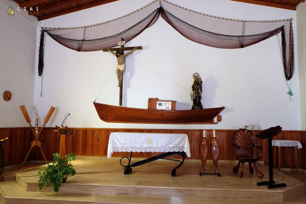 Wnętrze Iglesia De Nuestra Señora Del Carmen