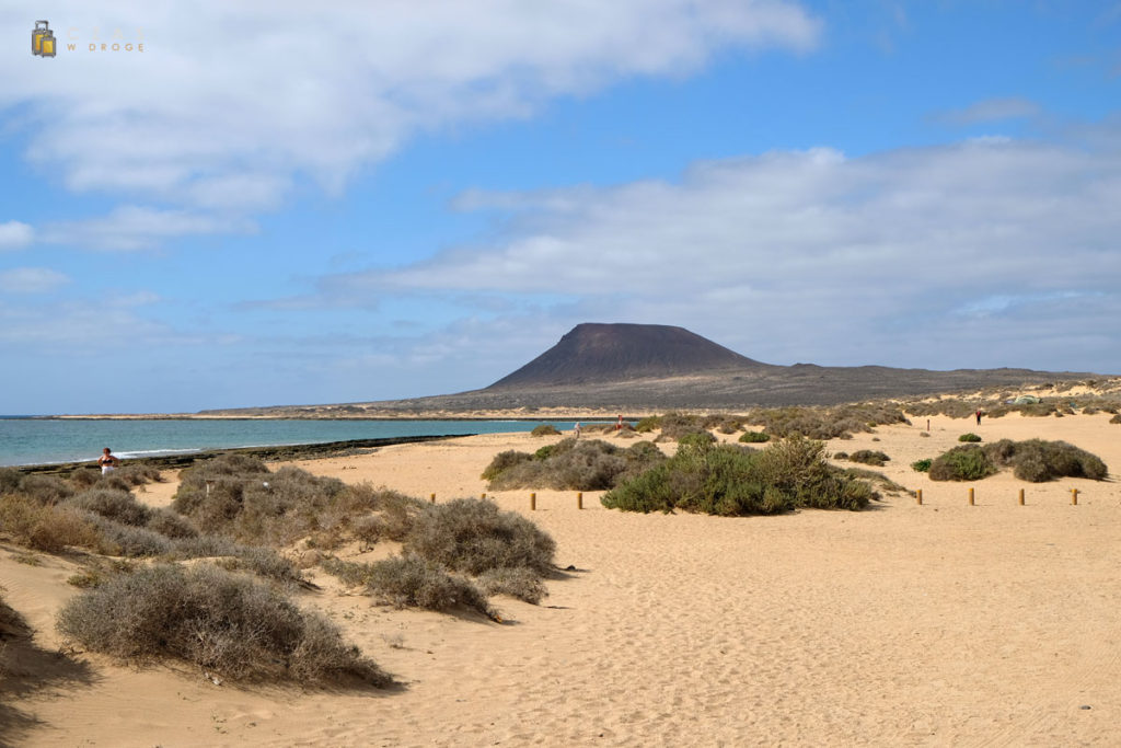 Widok w stronę Montaña Amarilla