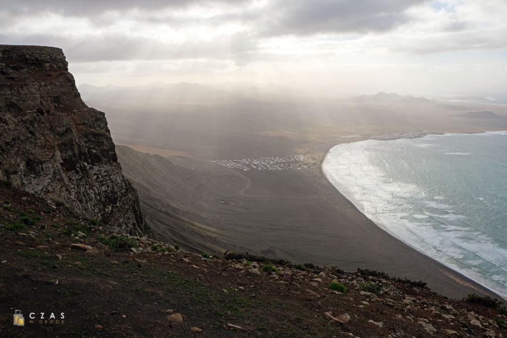 Widok z Mirador El Risco de Famara