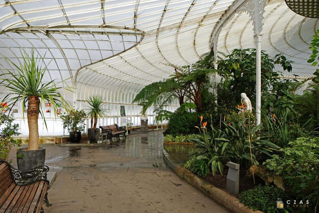 Wnętrze Kibble Palace