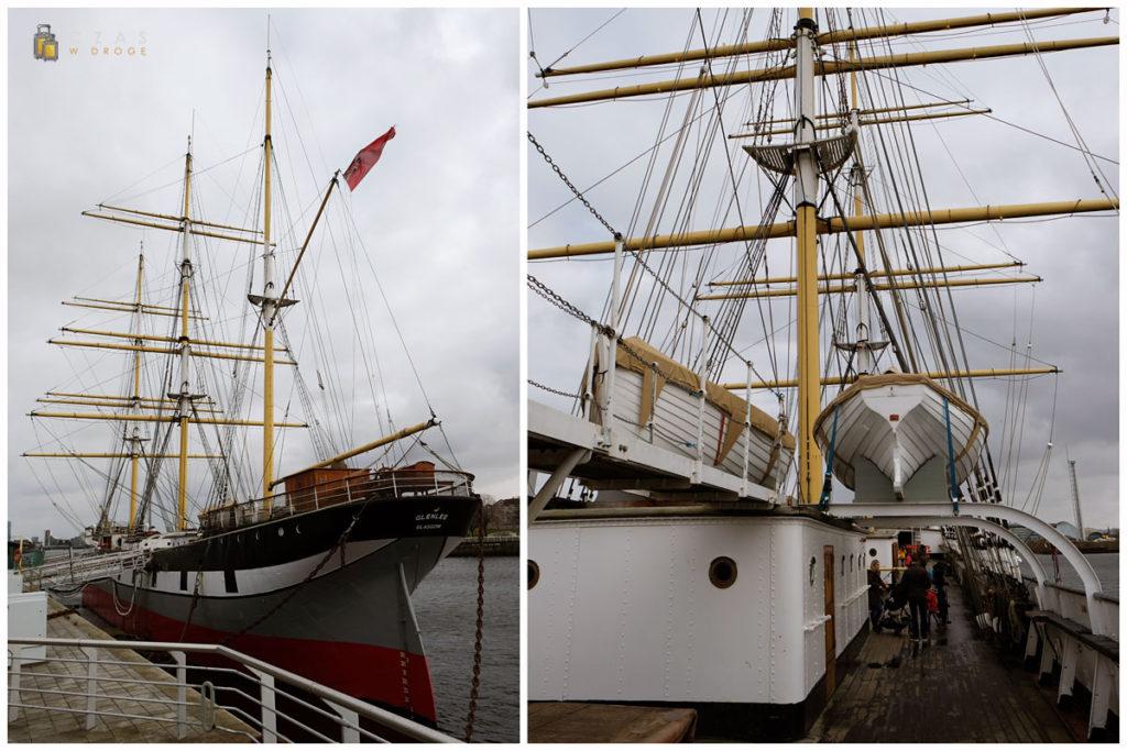 """Statek-muzeum """"Glenlee"""""""