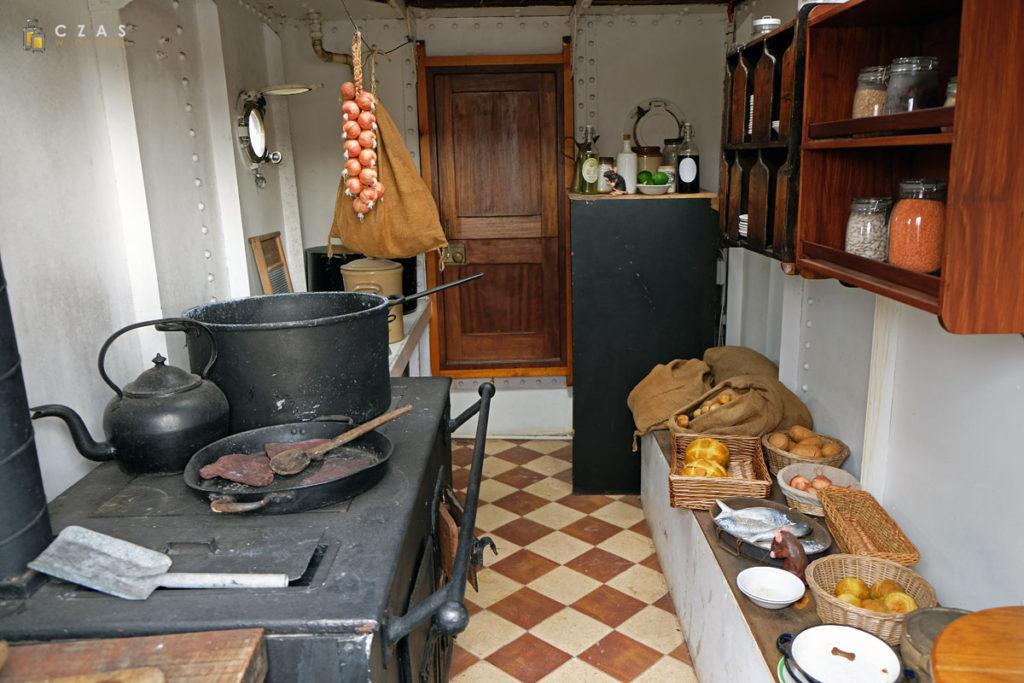 """""""Glenlee"""" - pokładowa kuchnia"""