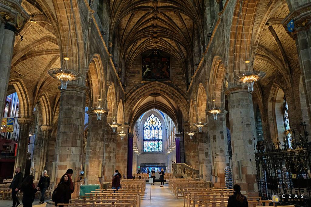 Wnętrze katedry św. Idziego