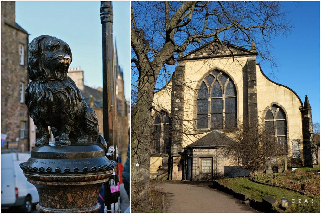 Grayfriars Bobby Memorial Statue / Kościół Grayfriars