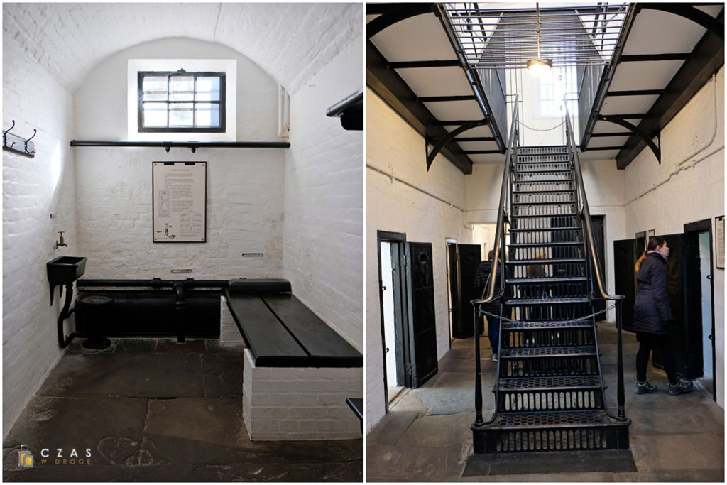 Zamek w Edynburgu / Więzienie