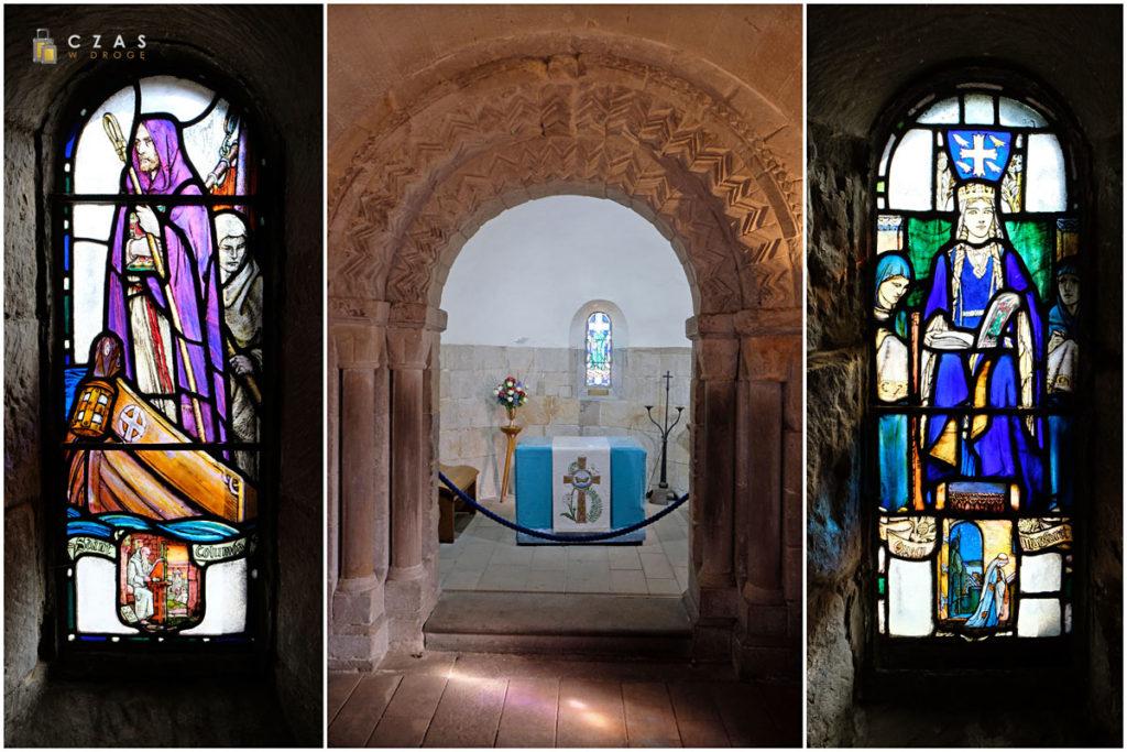 Wnętrze kaplicy św. Małgorzaty