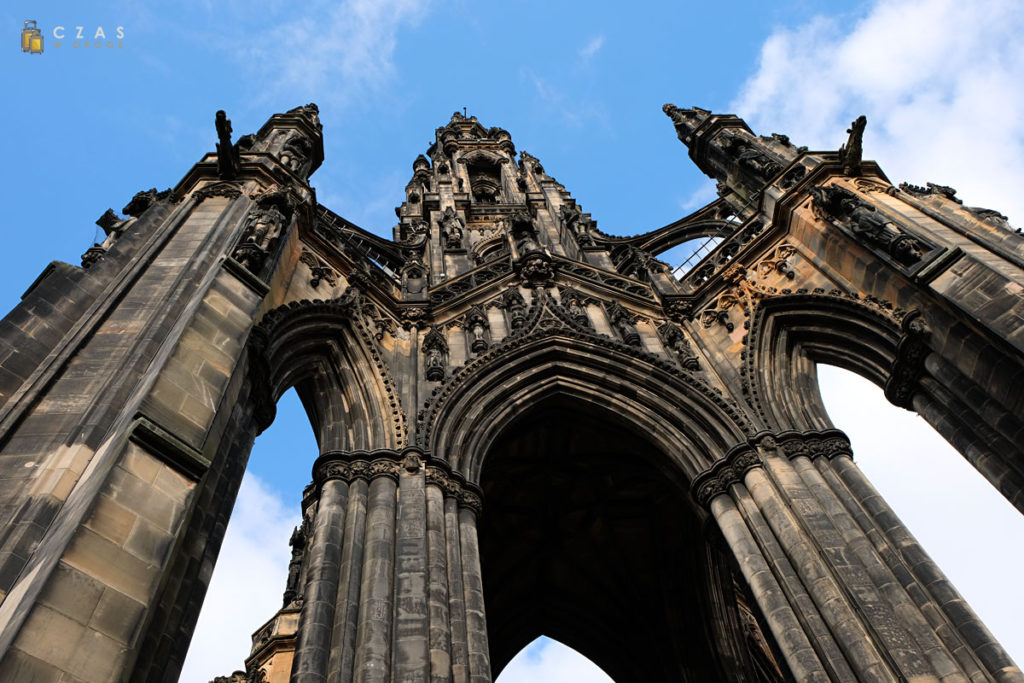 Rzut oka na Scott Monument :)