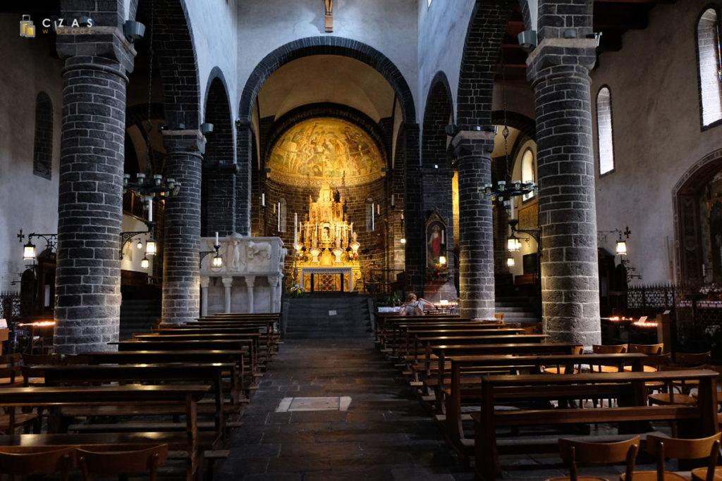 Wnętrze kościoła San Giacomo
