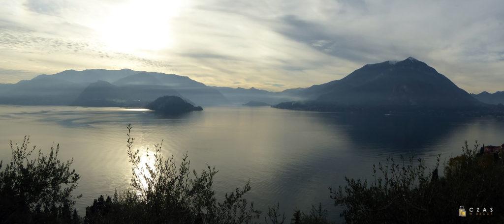 Jesienna panorama Lago di Como