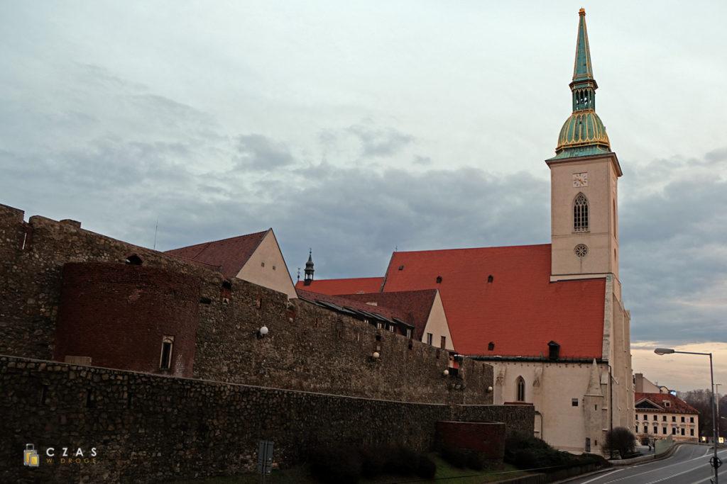 Widok na katedrę św. Marcina