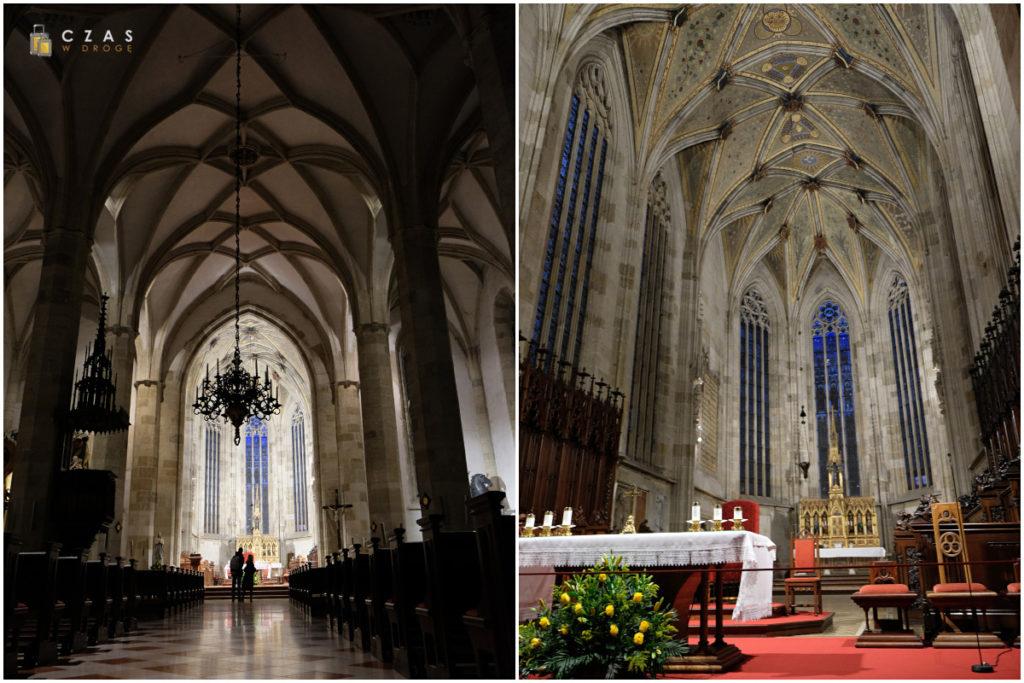 Wnętrze katedry św. Marcina