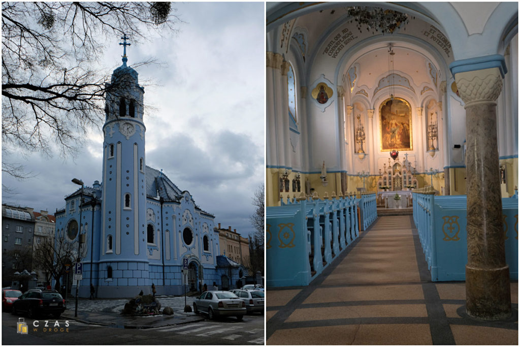 Kościół św. Elżbiety / Modrý kostolík