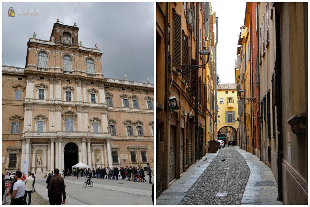 Accademia Militare / jedna z uliczek starego miasta